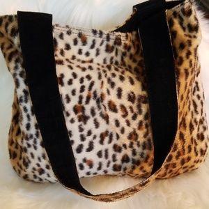 Handbags - Cute Leopard Print Reversible Purse